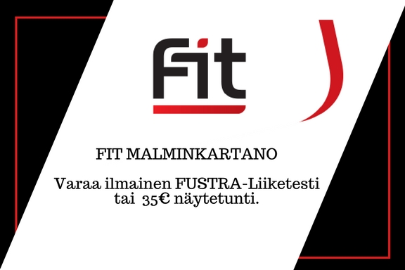 Fit Malminkartano mainos